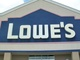 Lowe's front signage