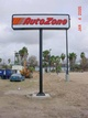 autozone outdoor signage sign